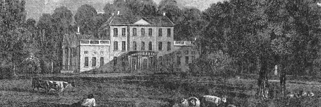 Arnos Grove, home of the Walker Family 1820