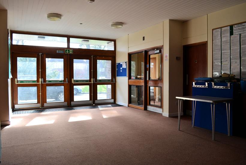Church House Foyer