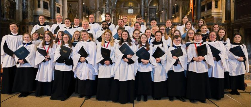 Choir at St marks