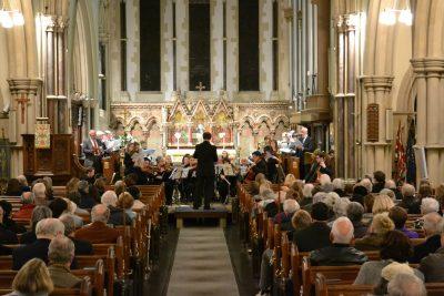 Bach Magnificat Concert in Progress