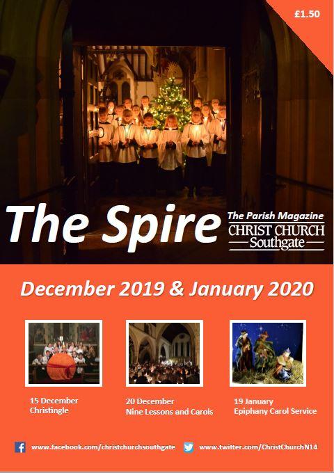 Spire December 2019 Cover