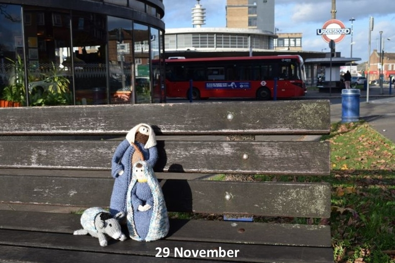 Mary and Joseph arrive in Southgate