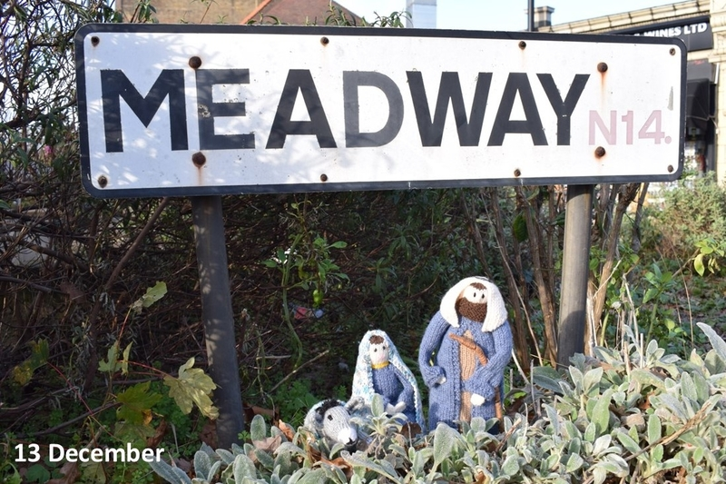 Mary and Joseph on Meadway