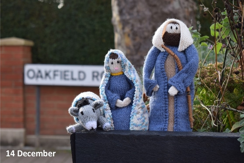 Mary and Joseph on Oakfield Road