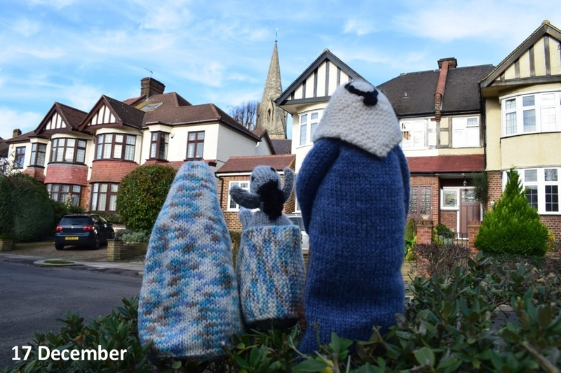 Mary and Joseph in Minchenden Crescent