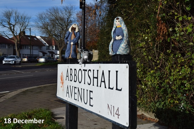 Mary and Joseph on Abbotshall Avenue