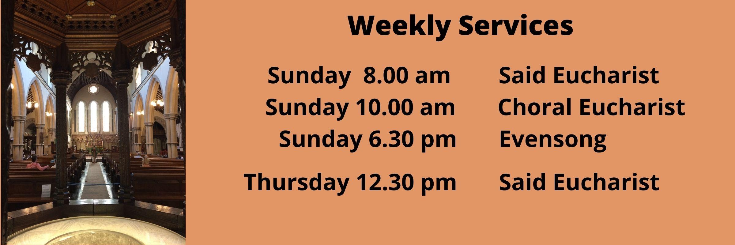 Service List June 2021